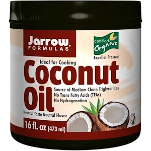 Jarrow Formulas Original Coconut Oil