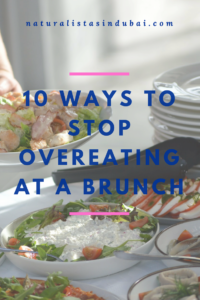 10 ways to stop overeating at brunch