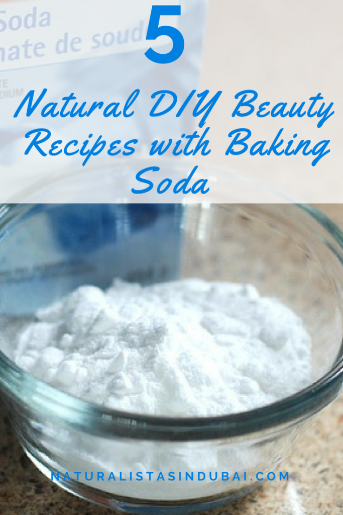 5 Natural DIY Beauty Recipes with Baking Soda