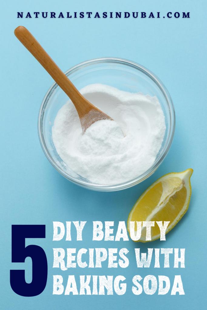 5 diy beauty recipes with baking soda