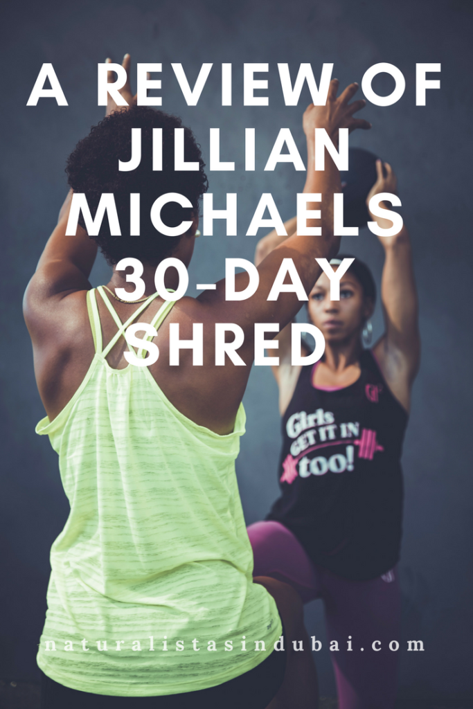 A Review of Jillian Micahels 30 Day Shred