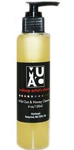 make up artists choice wild oat and honey cleanser