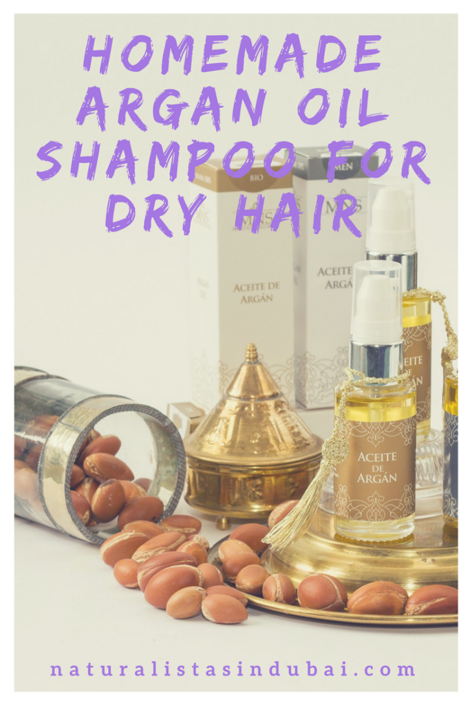 Homemade Argan Oil Shampoo for Dry Hair
