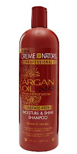 creme of nature argan oil shampoo