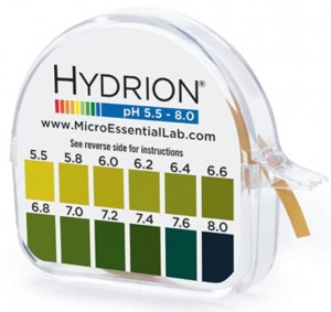 ph strips for testing hair products