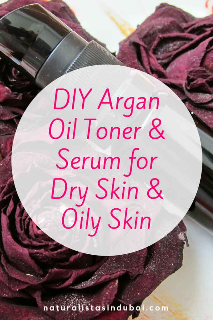 DIY Argan Oil Toner and Serum for Dry Skin and Oily Skin
