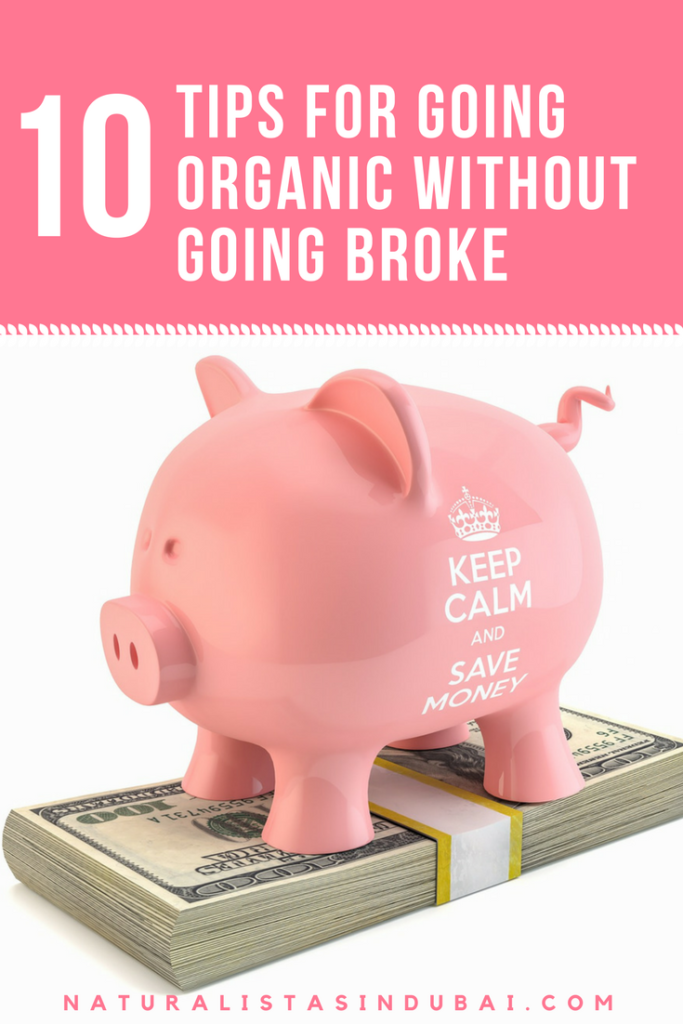 Top 10 tips for going organic without going broke