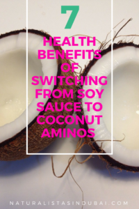 7 benefits of switching from soy sauce to coconut aminos