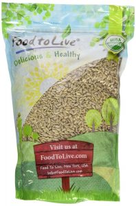 Food To Live Organic Sunflower Seeds