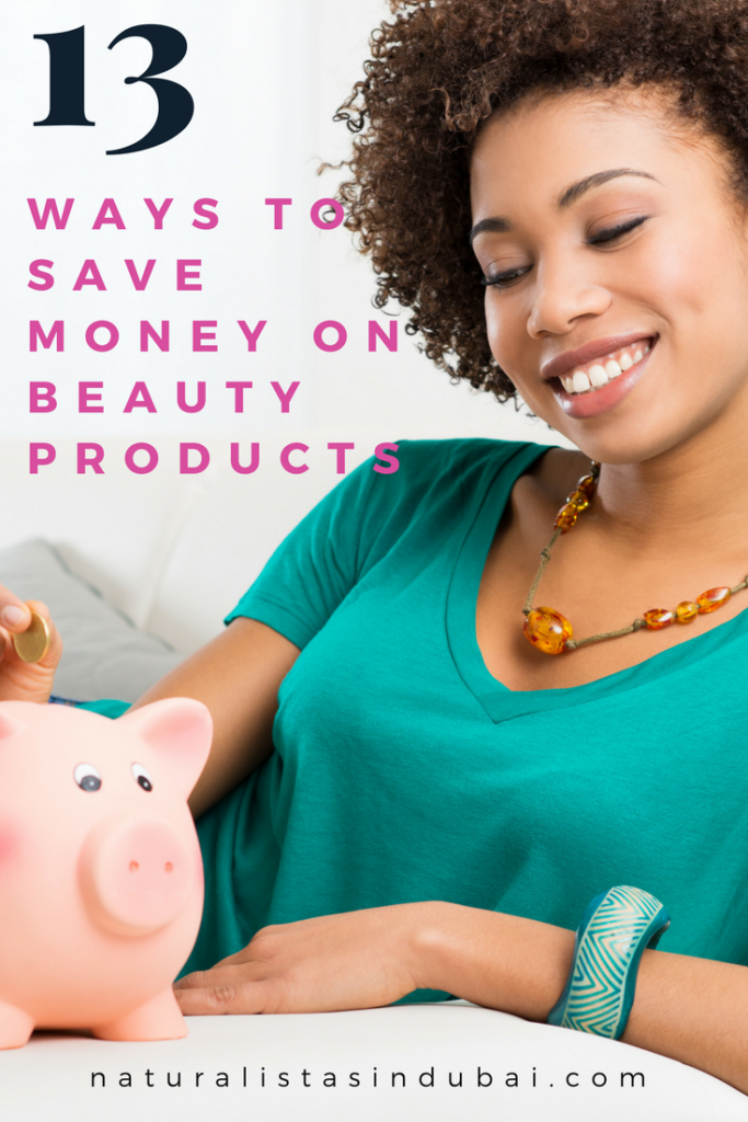 13 ways to save money on beauty products
