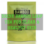 bamboo leaf tea for hair and skin