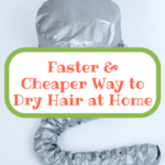 safer way to dry hair