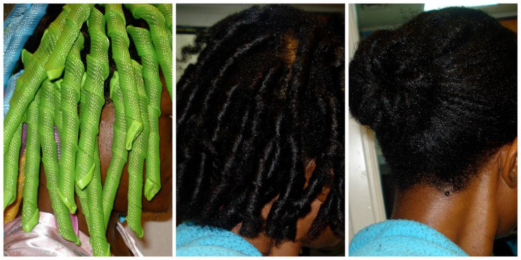 Straighten Natural Hair With Curlformers