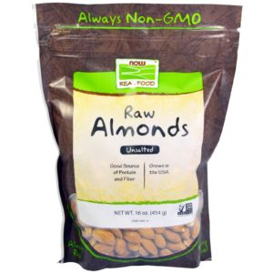 Now Foods Raw Almonds