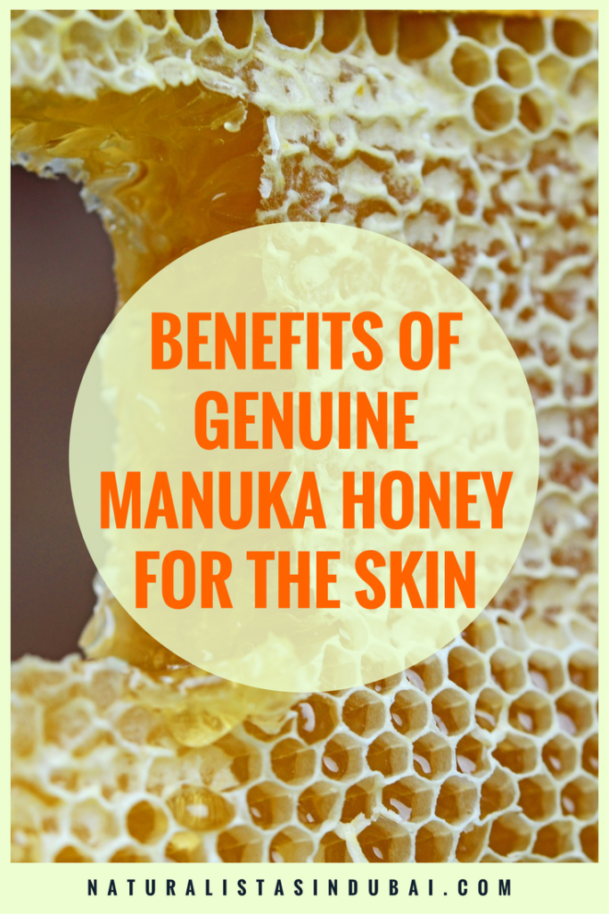 Benefits of genuine manuka honey for the skin