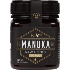 Kiva Certified UMF 20+ Raw Manuka Honey