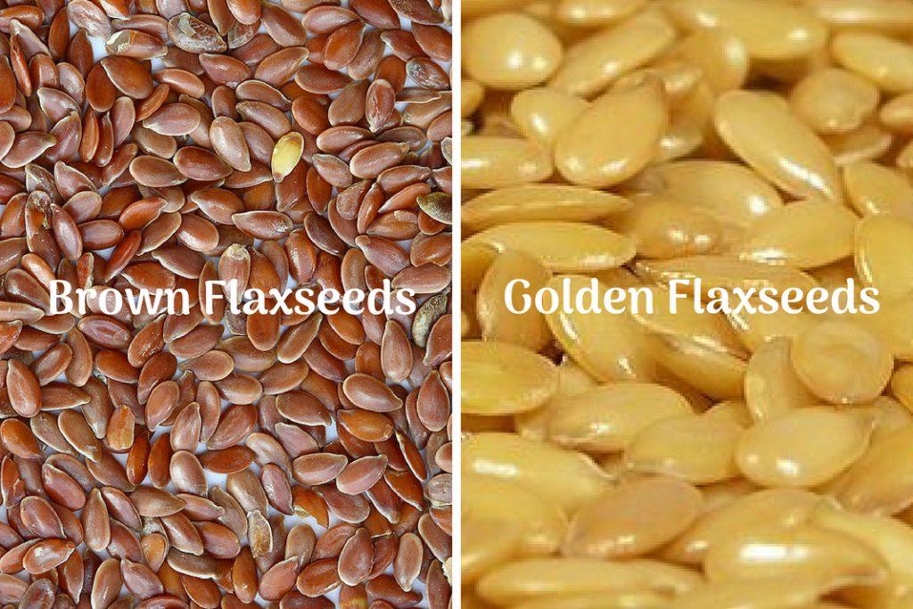 brown flaxseeds vs golden flaxseeds