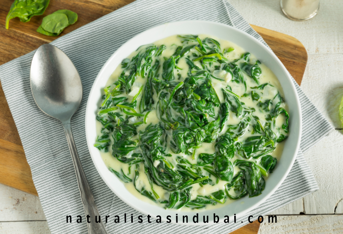 Creamed Spinach for Thanksgiving