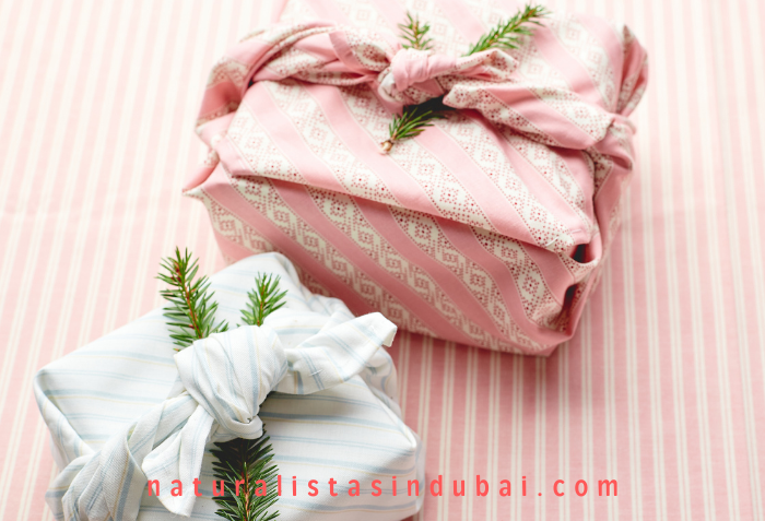 Gift Wrapping With Old Clothing Material