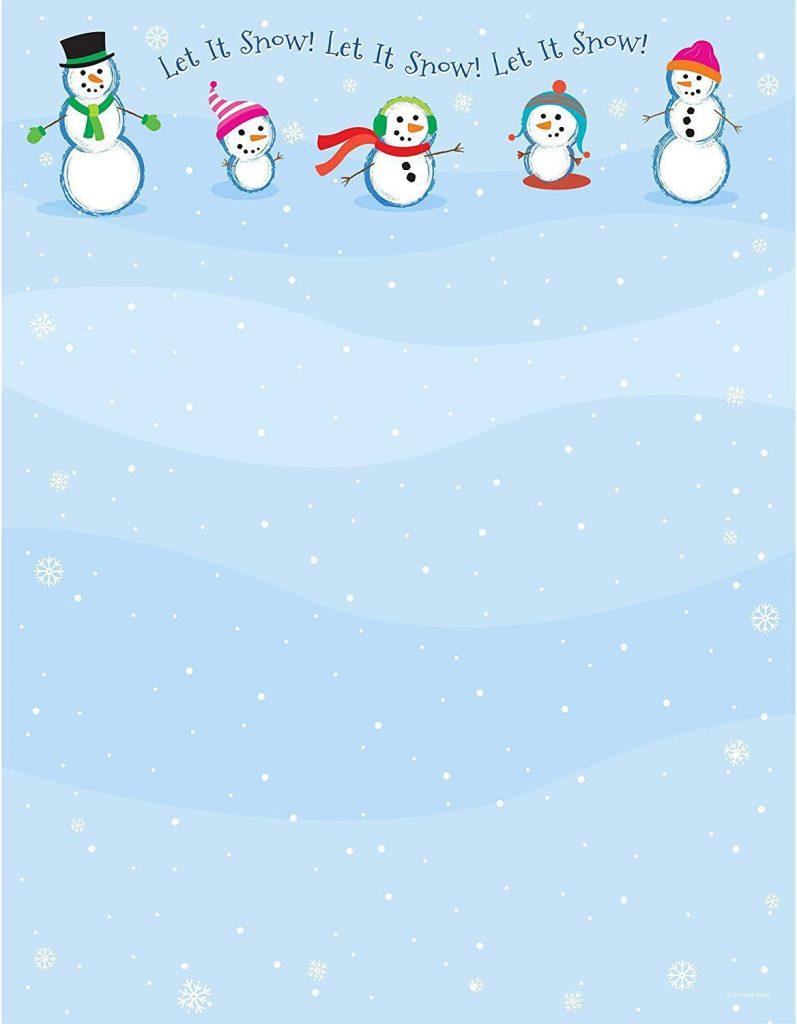 Holiday Letterhead Stationery