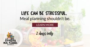 Meal planning shouldn't be stressful